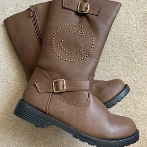 OLIVIA MILLER Riding Boots Girls Size 1